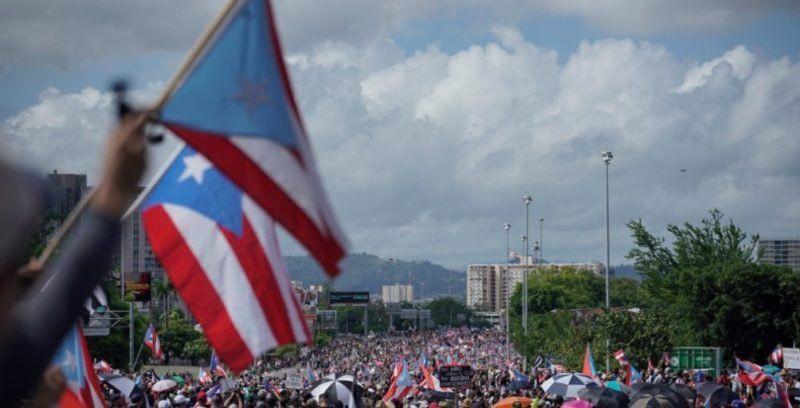 Otra manifestación masiva en Puerto Rico en reclamo de la renuncia del gobernador