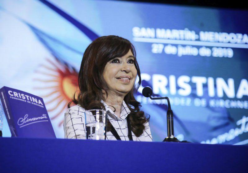 """Cristina dijo que """"con la comida hoy en la Argentina estamos igual que Venezuela"""""""