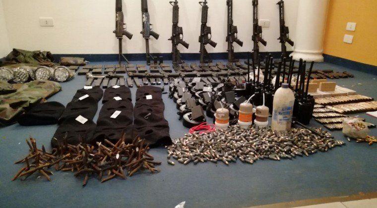 Desde un departamento de Rosario salían las armas que se vendían a bandas criminales brasileñas