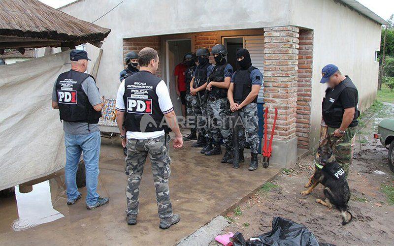 Narcomenudeo: condenaron a cinco 'dealers' barriales que operaban en la ciudad de Rafaela