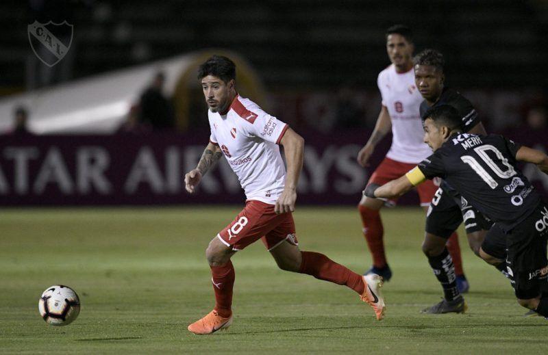 Independiente perdió en la altura de Quito y quedó afuera de la Copa Sudamericana