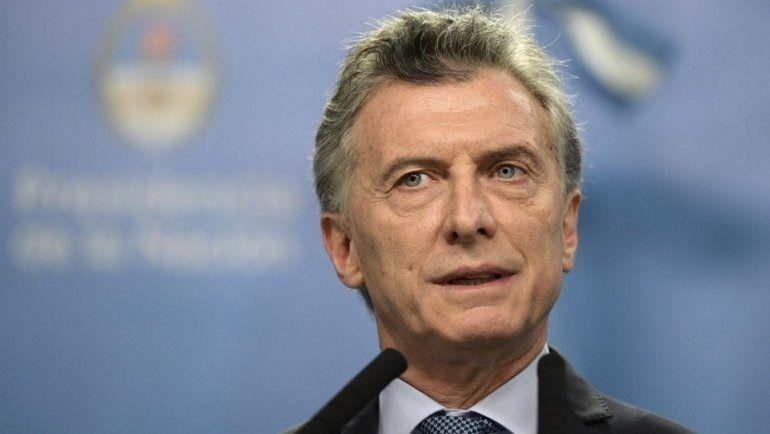 Los anuncios de Macri: se congela el precio de la nafta, baja el mínimo de ganancias y un plan de deudas para las pymes