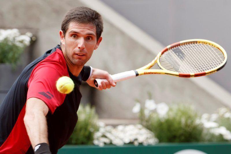 Delbonis no pudo con Gasquet y quedó eliminado del Masters de Cincinnati