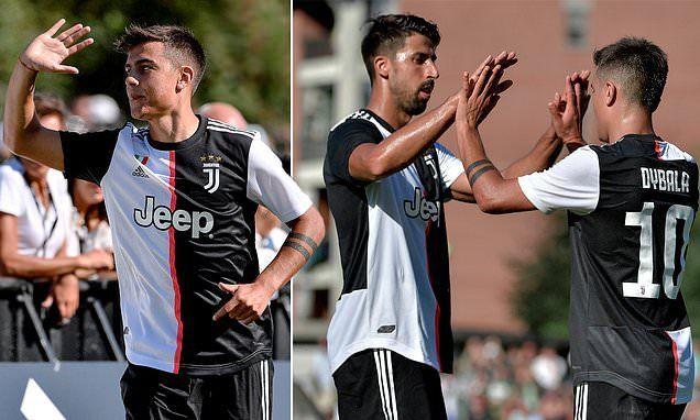 Dybala marcó dos goles en un amistoso de Juventus