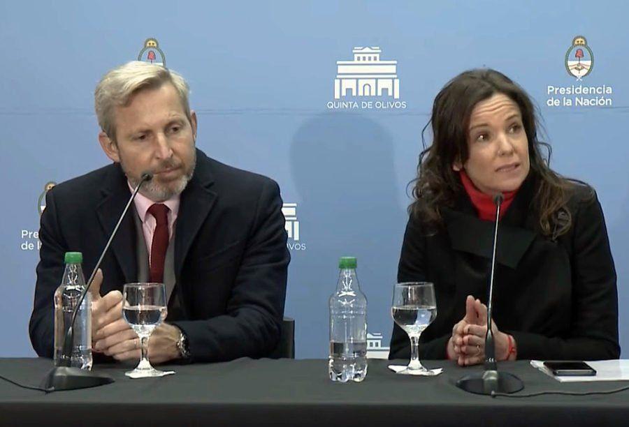 """Frigerio y Stanley, tras el anuncio de Macri: el presidente """"escuchó el mensaje de la gente"""""""