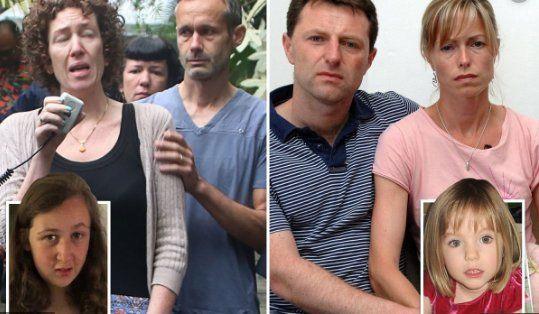 """Para los padres de Madeleine McCann, la desaparición de Nora Quoirin es """"la vuelta al horror"""""""