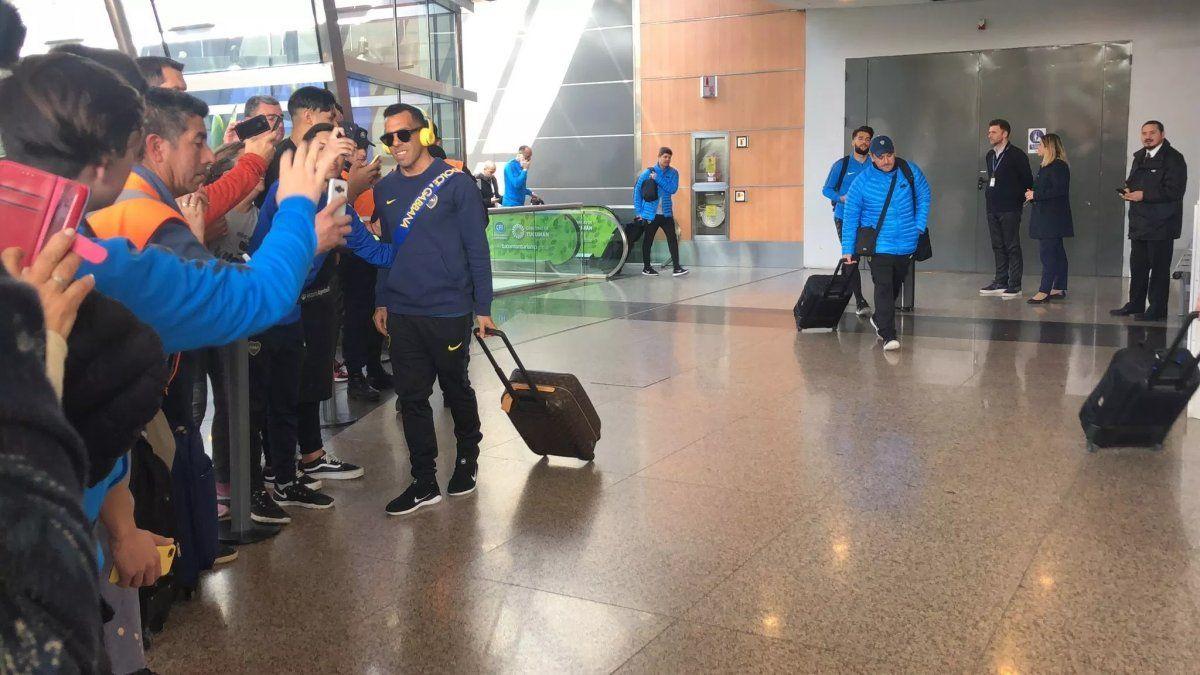 Boca viajó a Ecuador para enfrentar a Liga de Quito por la Copa Libertadores