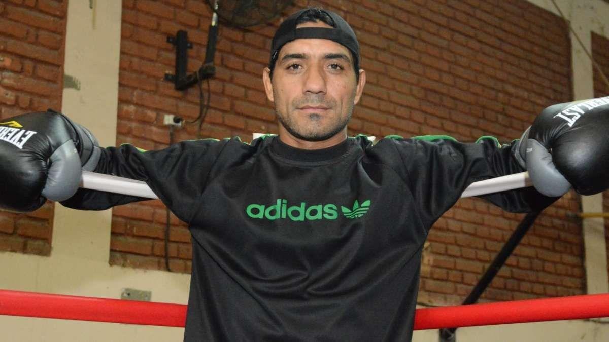 El boxeador mendocino Chacón hizo su primer entrenamiento en Texas