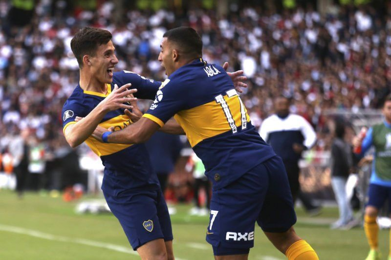 Boca venció 3 a 0 a Liga Deportiva en Quito y se encamina a la semifinal de la Libertadores