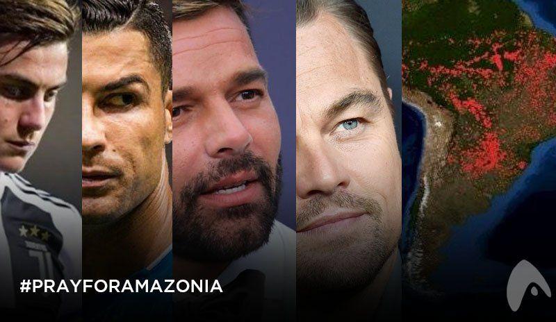 #PrayForAmazonia: los mensajes de los famosos ante la catástrofe ambiental