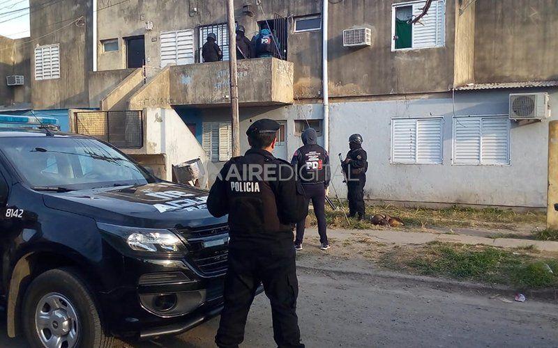 """Cayó la banda """"De los Rocho"""": operaban en el sur de Santo Tomé y vendían drogas al menudeo"""