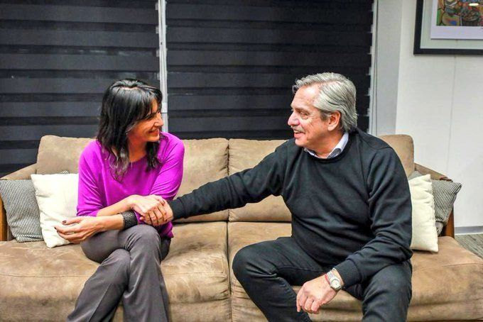 En busca de un acercamiento con el PJ cordobés, Alberto Fernández se reunió con la hija de De la Sota