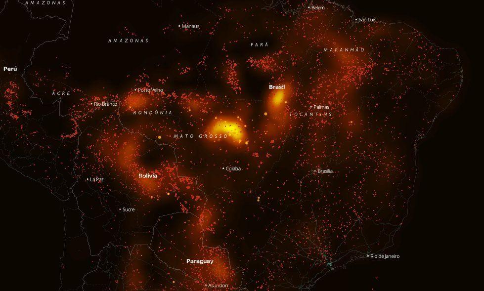 La selva de rodillas: los incendios en la Amazonía despiertan al mundo con un shock de realidad