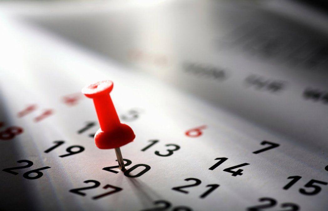Feriado del 20 de junio: cuál será el próximo fin de semana largo