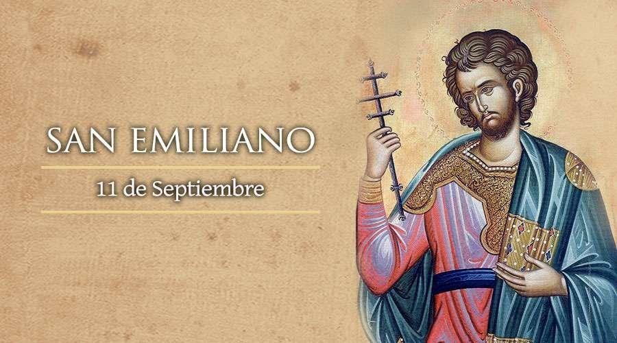 Este 11 de septiembre se celebra San Emiliano