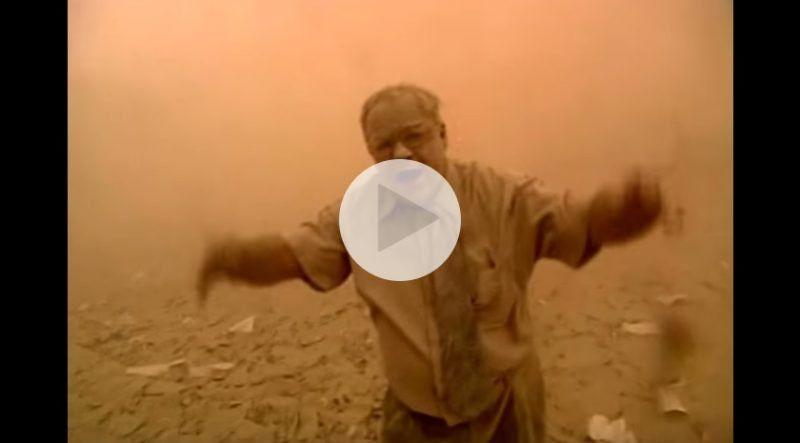 El video del momento más dramático del ataque a las Torres Gemelas