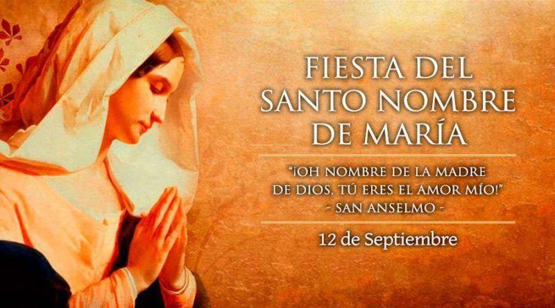 Este 12 de septiembre se celebra el Santo Nombre de María