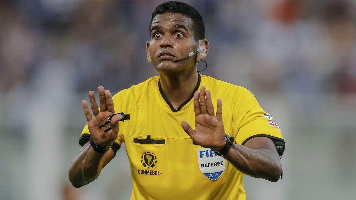 El venezolano Alexis Herrera será el árbitro en el partido de ida entre Colón y Mineiro