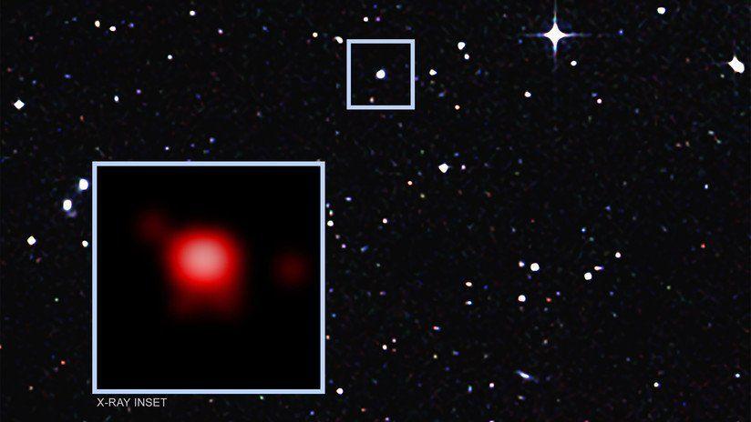 Alertan que un agujero negro supermasivo devora 12 lunas al día
