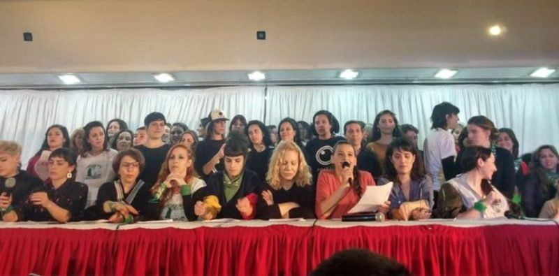El Colectivo de Actrices dio una conferencia y denunció al ex director del Centro Cultural San Martín