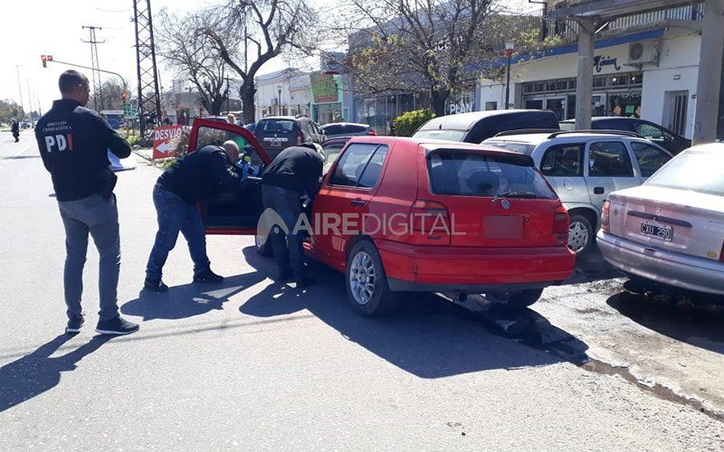 Secuestraron y peritaron el auto vinculado a la desaparición de la enfermera Burgadt