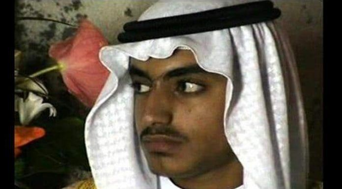 El presidente Donald Trump confirmó la muerte del hijo de Osama Bin Laden