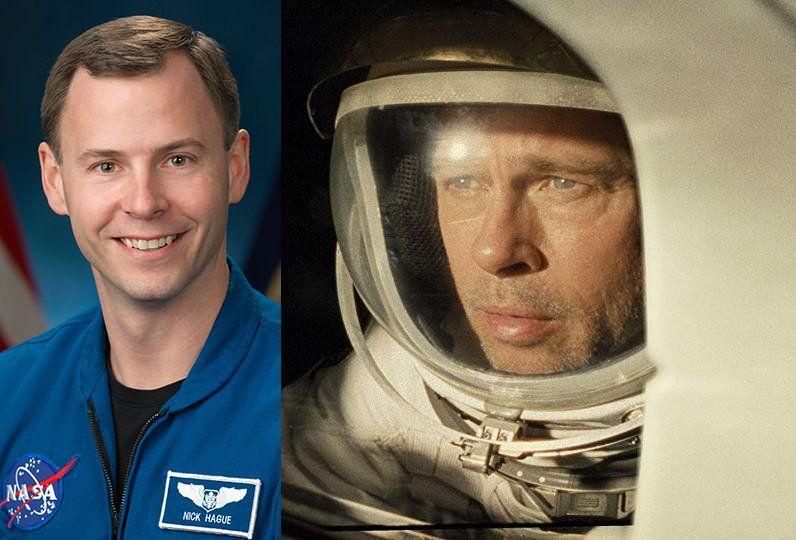 Brad Pitt tendrá la oportunidad de hablar con un astronauta de la EEI sobre cómo es vivir en el espacio