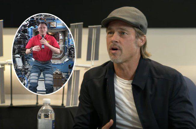 """Brad Pitt charló con un astronauta sobre su nueva película del espacio: """"Hablemos de mí, ¿cómo me viste?"""""""