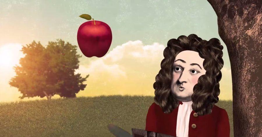 ¿De verdad recibió Newton un manzanazo?