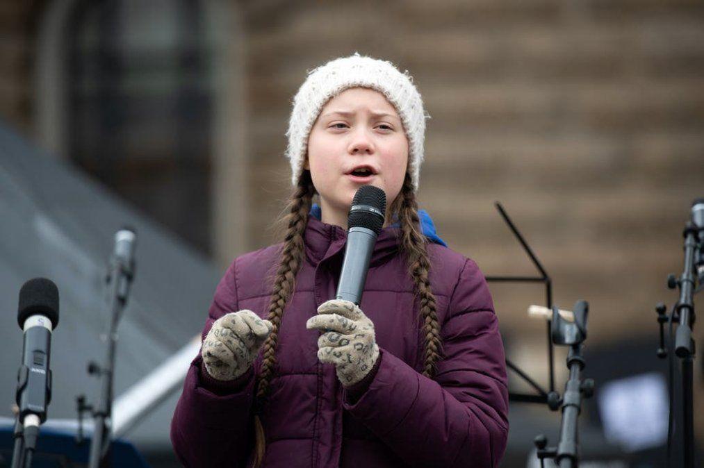 Greta Thunberg dió un discurso contra el Cambio Climático en el Congreso de Estados Unidos