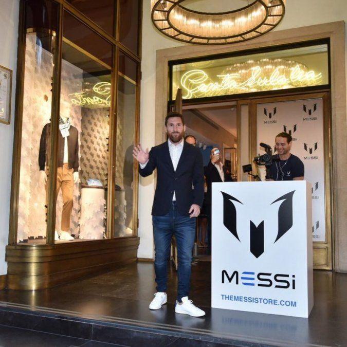 Messi y su hermana María Sol presentaron su nueva marca de ropa
