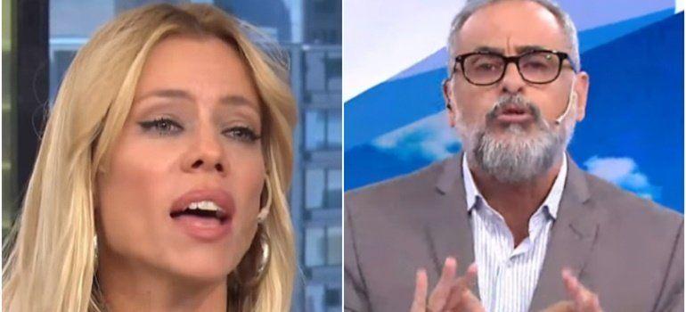 """El palito de Nicole Neumann ¿a Jorge Rial?: """"Me dan vergüenza los hombres misóginos"""""""