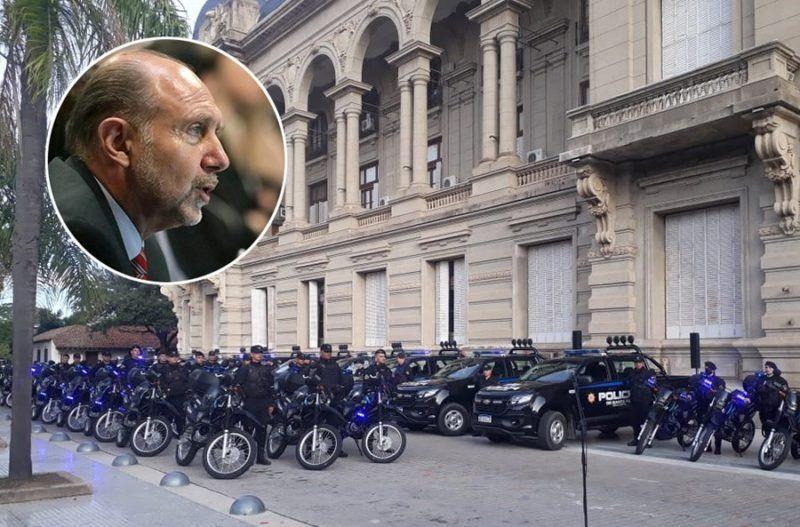 Dos modelos antagónicos disputan dentro del PJ el sillón de Seguridad en la gestión de Perotti
