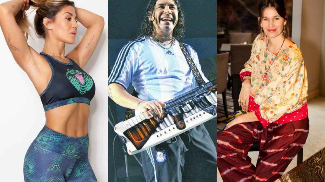Los famosos se expresaron en las redes por el inicio de la primavera