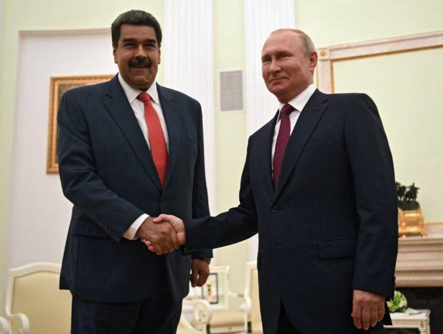 Putin recibió a Maduro y le ratificó su apoyo frente a Guaidó