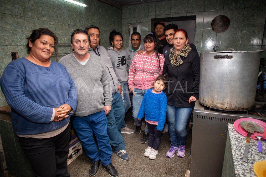 Crece la pobreza y cada vez más familias recurren a los comedores solidarios de Santa Fe