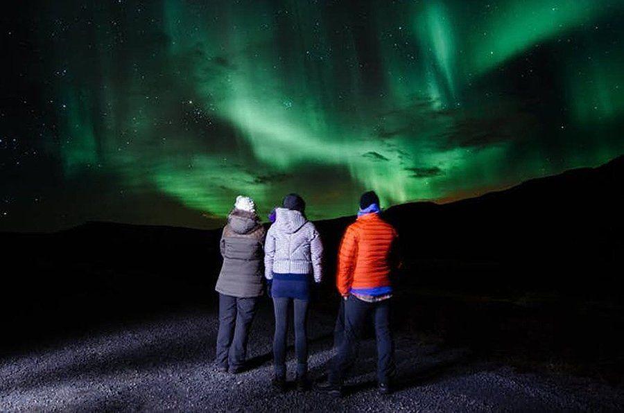 En los últimos días, estas auroras boreales iluminaron el cielo de los países cercanos al polo norte
