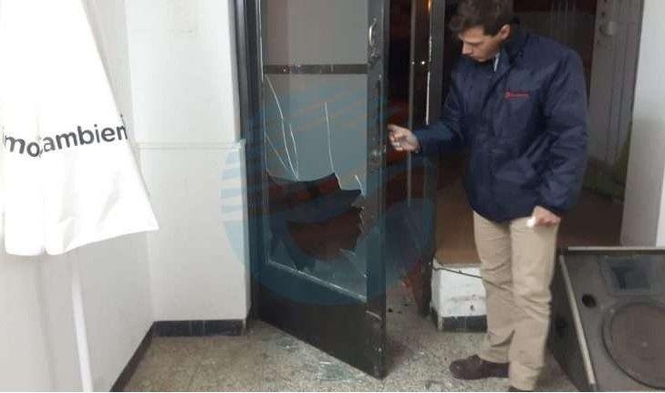 Violentaron la sede de Cambiemos Esperanza