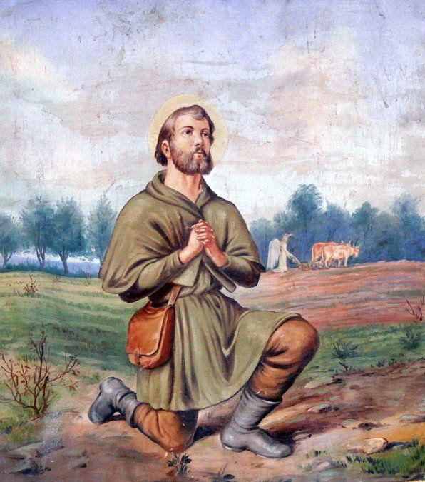 Santo del día: San Isidro Labrador