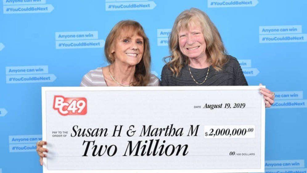 Son amigas desde hace 50 años y han ganado dos millones en la lotería