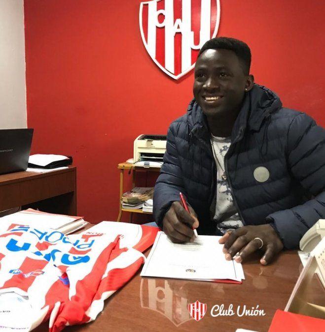 Yeimar Gómez Andrade extendió su contrato con Unión hasta junio de 2022