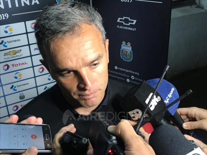 """Pablo Lavallén: """"Nos vamos con bronca porque no pudimos cerrar el partido"""""""