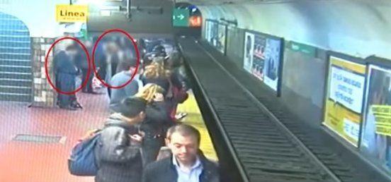 La mujer que cayó a las vías del subte en la Estación Pueyrredón permanece internada y estable