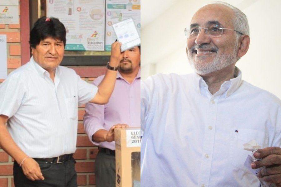 Elecciones en Bolivia: Evo Morales y Carlos Mesa van a segunda vuelta, según datos oficiales