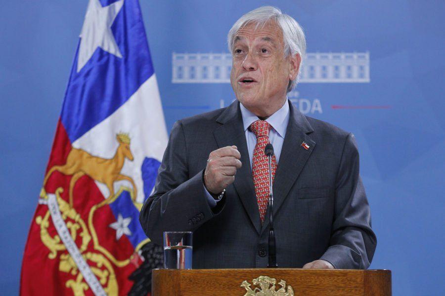 """Piñera se refirió a las protestas: """"Tienen un grado de logística propia de la organización criminal"""""""