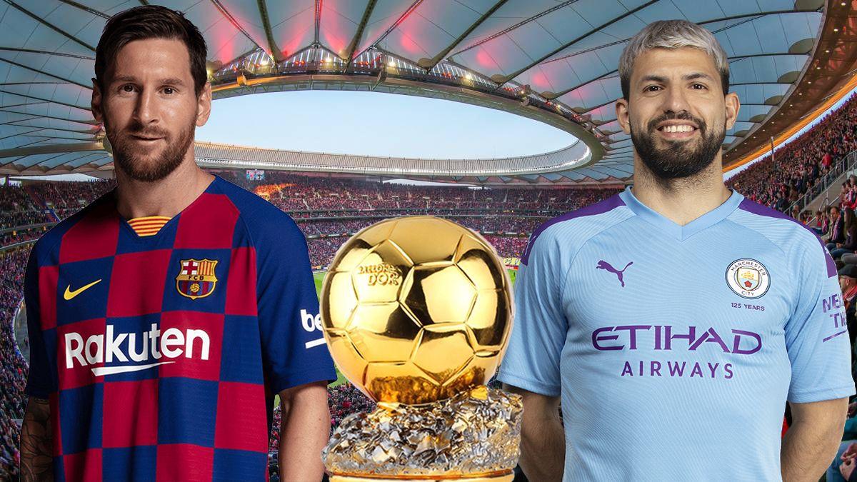 Lionel Messi y el Kun Agüero nominados para el Balón de Oro 2019