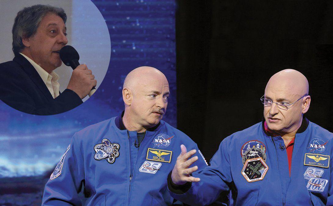 Mark y Scott Kelly protagonizaron el Estudio Gemelos. Scott vivió un año en el espacio y la Nasa comparó los resultados genéticos.