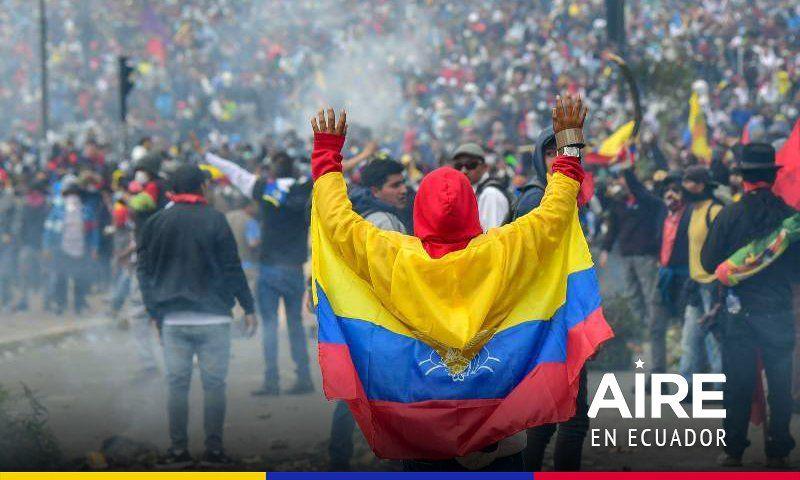 Cinco claves para entender las causas de la crisis que atravesó Ecuador
