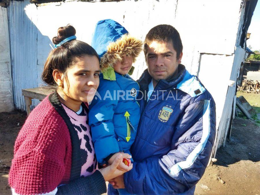 Le dieron el alta a Jonathan, el nene de 4 años herido de bala en los festejos post-clásico Unión-Colón