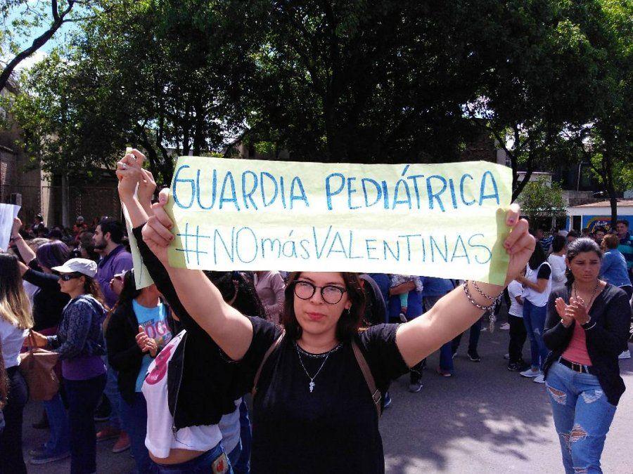 Reconquista reclama una guardia pediátrica permanente tras la muerte de Valentina, de tres años